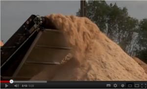 Transmanut - Livraison granulés bois par camion souffleur Transmanut
